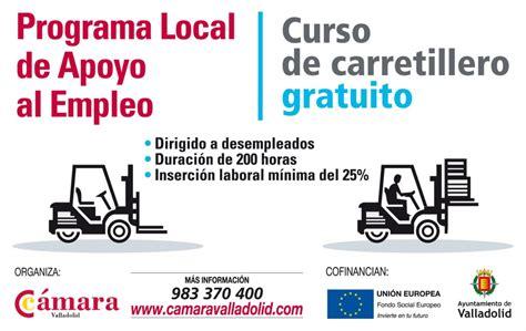 programa de trabajo para el curso 2015 2016 curso carretillero gratis desempleados transportes de