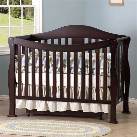 Crib Baby Furniture Shermag My Home Art Shermag Convertible Crib