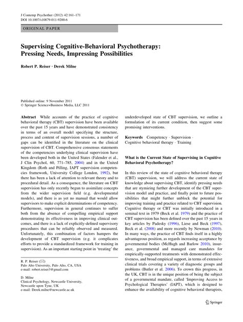process based cbt the science and clinical competencies of cognitive behavioral therapy books supervising cognitive behavioral psychotherapy pressing