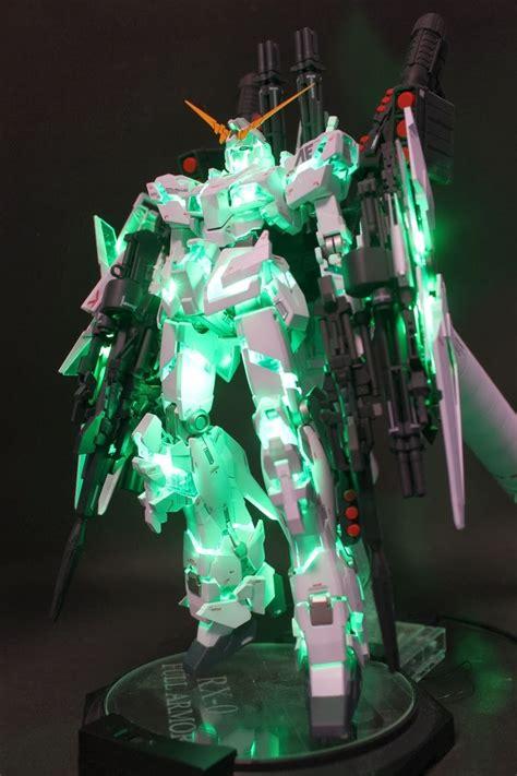 Mg 1 100 Fa Gundam Unicorn Ver Ka mg 1 100 armor unicorn gundam ver ka custom build led light installation gundam