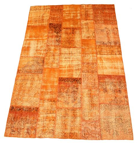 Carpet Patchwork - patchwork vintage carpet 300 x 200 cm