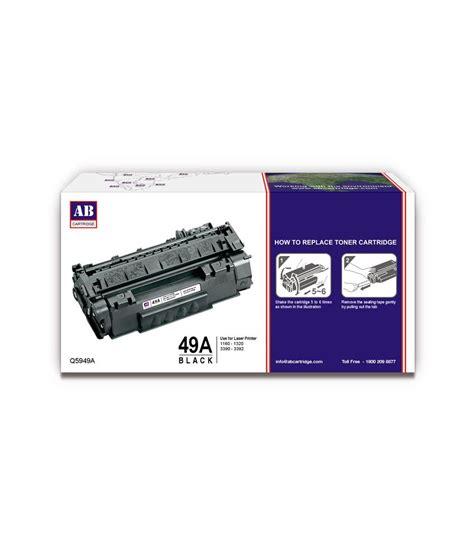 Harga Toner Catridges Hp 49a Laserjet 11601320n ab 49a black toner cartridge q5949a hp 49a black toner compatible for hp laserjet 1160