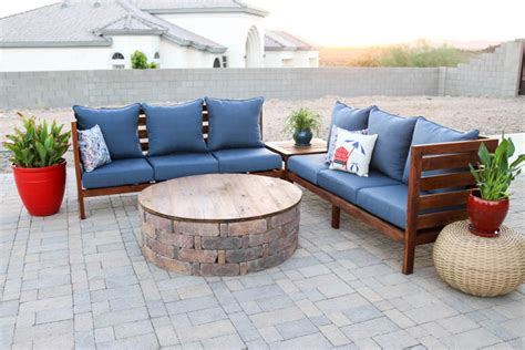build outdoor sectional sofa diy outdoor sectional sofa part 1 how to build the sofa