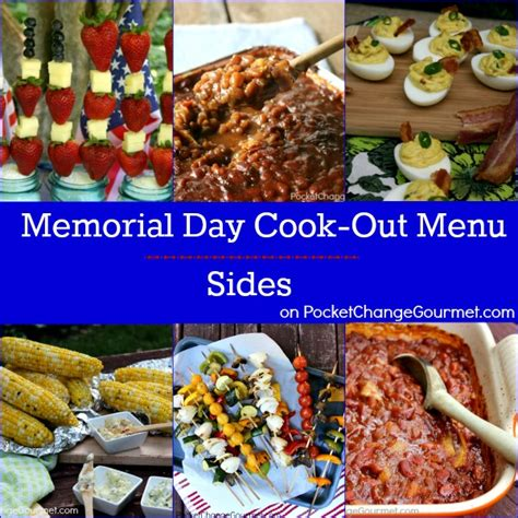 Cpwm Memorial Day Bbq Menu by Memorial Day Cook Out Food Recipe Pocket Change Gourmet