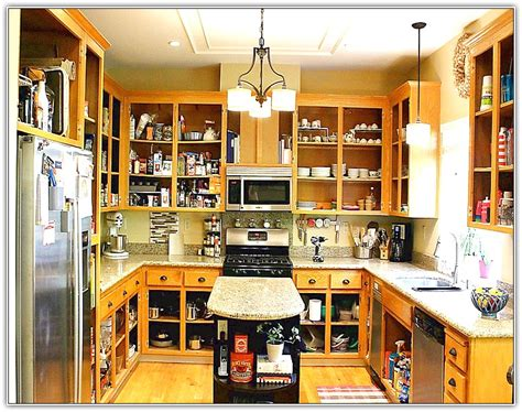 Open Kitchen Cabinets No Doors Open Kitchen Cabinets Home Design Ideas