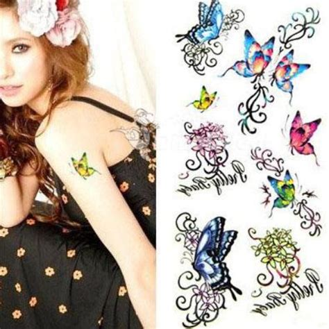 butterfly temporary tattoo tattoo 3d