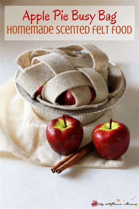 Apple Scented Opportunities by Apple Pie Busy Bag Sugar Spice And Glitter