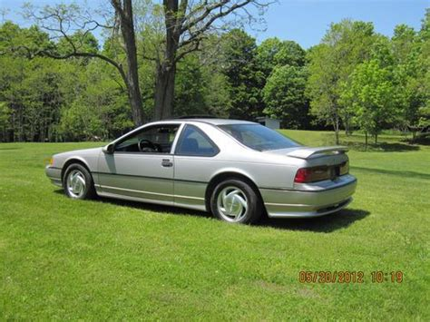 automobile air conditioning service 1990 ford thunderbird navigation system sell used thunderbird super coupe 1990 in windham new york united states