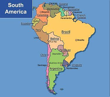 this is where argentina is in the south american region