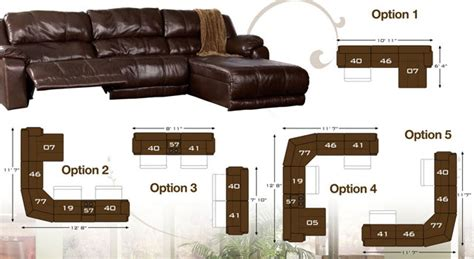braxton java sectional how to arrange the braxton java sectional by ashley