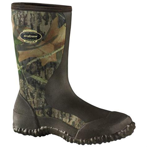 mens stable boots s lacrosse 174 12 quot alpha lite stable boot black 130000
