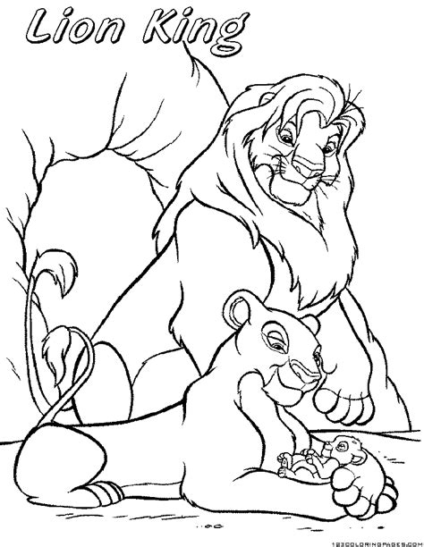 lion color by number coloring pages lion king coloring pages