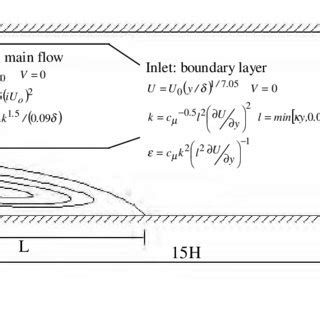 Boundary Conditions For Turbulent Flow Past A Backward