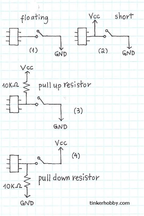 pull resistors explained pull up resistor tutorial 28 images acrobotic and unique electronics for everyone pull up