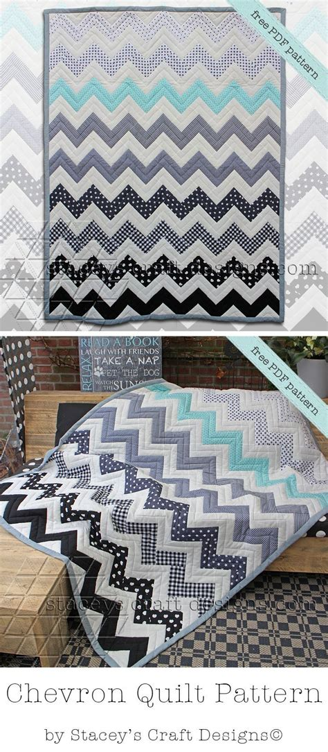 Chevron Baby Quilt Pattern Free by 17 Best Ideas About Chevron Quilt Pattern On