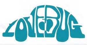love bug car sticker hippy motors car stickers vinyl decals transfers