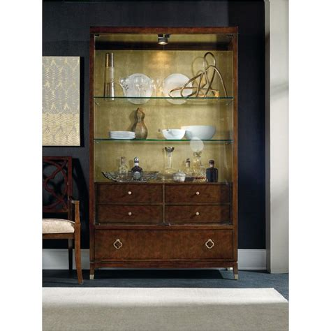 dining room display cabinet 5336 75908 hooker furniture skyline dining room display cabinet full circle