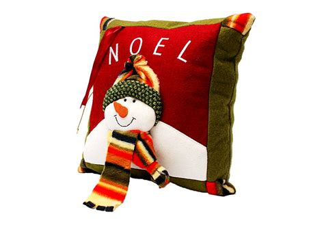 lovely christmas snowman throw pillow j03616 buy at