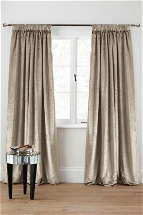 plush velvet curtains 24 best images about mink cream bedroom on pinterest