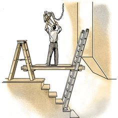 Supported by ladders illustration steve sanford thisoldhouse com