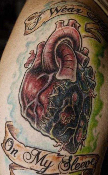 realistic rotten heart tattoo tattooimages biz