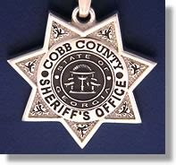 Cobb County Sheriffs Office by Cobb County Badge Charms