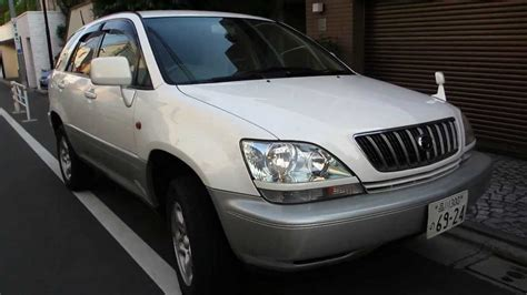 toyota lexus 2001 2001 toyota harrier pictures information and specs