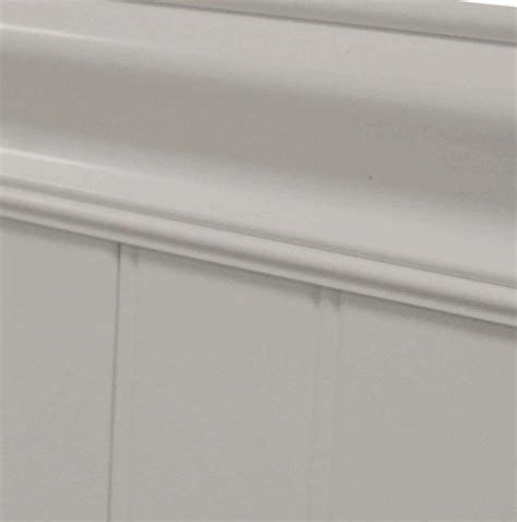 vinyl chair rail molding plastpro planking wainscoting contemporary molding and
