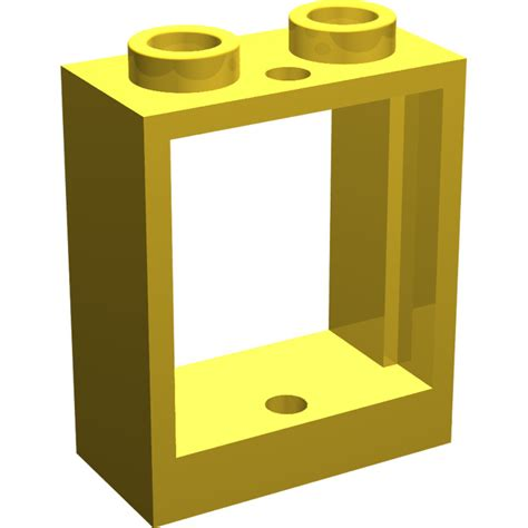 Lego Part Yellow Window 1 X 2 X 3 Pane With Thick Corner Tabs lego yellow window 1 x 2 x 2 without sill brick owl lego marketplace