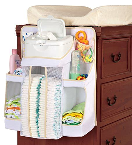 Changing Table Hanging Organizer Hiccapop Nursery Organizer And Baby Caddy Hanging Organization Storage For Baby