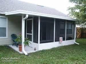 Cost Of Sunroom Screen Room Enclosure Orlando Florida Prager Builders