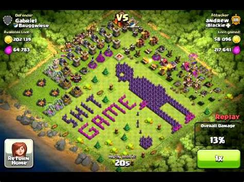 coc unique layout top 10 funny clash of clans base top ten funny coc base