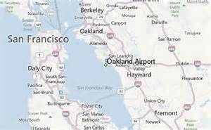 california airport map oakland airport weather station record historical
