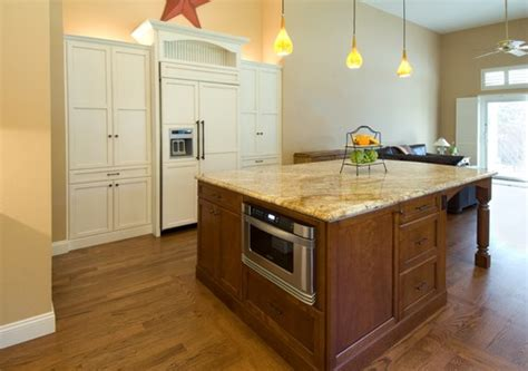 kitchen island with microwave does anyone regret installing your microwave in your