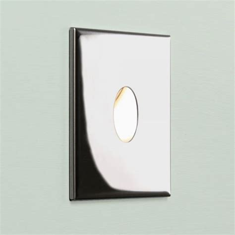 Recessed Led Bathroom Lighting Square Chrome Recessed Led Wall Light For Indoors Ip65 Bathroom Safe