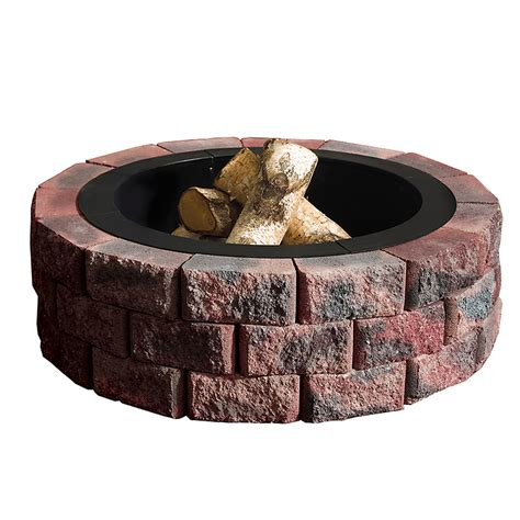 lowes firepit lowes outdoor firepit allen roth 36 6 in ridge gas pit