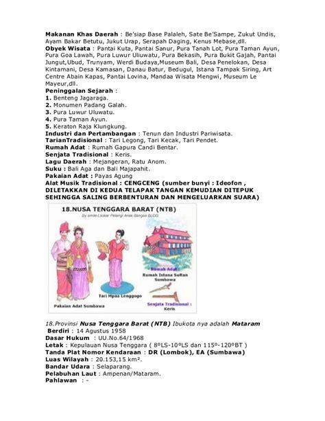 nama perkain kaum bali nama 33 provinsi di indonesia lengkap dengan pakaian