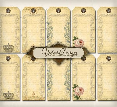 printable hang tags free 7 best images of blank printable vintage gift tags free