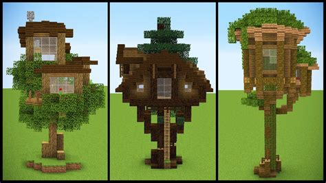 tree house designs minecraft 3 minecraft starter treehouse designs youtube