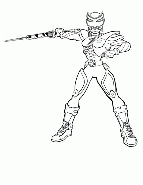 power rangers wild force coloring pages coloring home