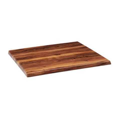 outdoor wood table top outdoor resin table top in walnut finish