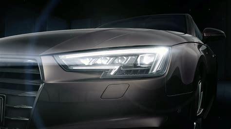 Audi Led Scheinwerfer by Die Audi Matrix Led Scheinwerfer Im Audi A4