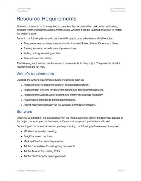 apple documentation documentation plan template apple iwork pages and numbers