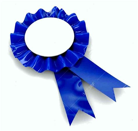 blue ribbon award template template update234 com
