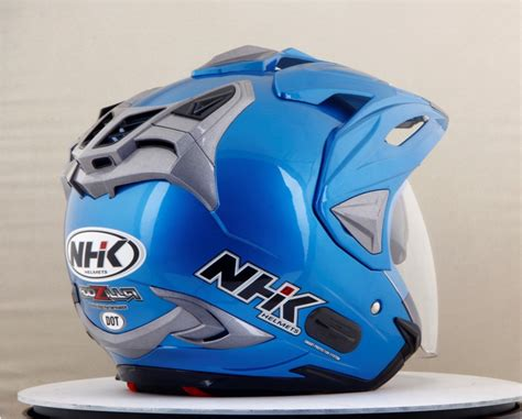 Helm Nhk Biru helm nhk godzilla lebih futuristik gilamotor