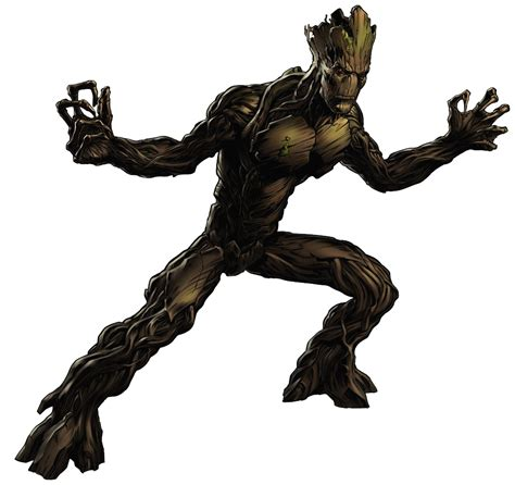 marvel film groot plant like life form alternate alien brute class for