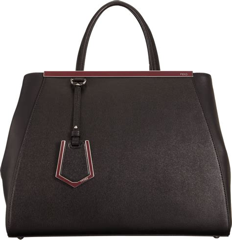 Fendi 2 Jourius by Fendi Small 2 Jours Tote In Black Lyst