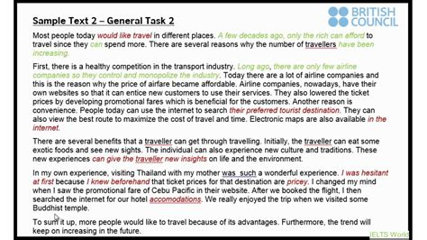 Ielts Writing Task 2 Essay 112 by Ielts General Writing A S View Of Task 2
