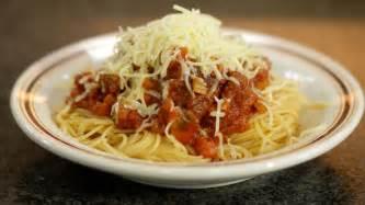spaghetti bolognaise dagelijkse kost