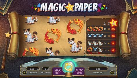 magic paper jugadas gratis en modo demo  evaluacion de juego